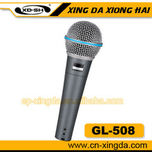 Factory sales dynamic microphone SM microphone