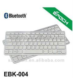 2014 best selling items White Mini Bluetooth Keyboard, mini wireless keyboard compatible for Apple MAC