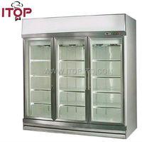 display convenience store pastry display refrigerator