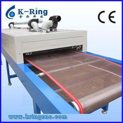 Infrared screen printing conveyor dryer for t shirts ,garment ,textile ,etc KRI800/6000
