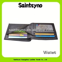 13133A Top quality mens leather funky wallet