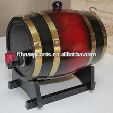 Wooden wine bucket pine bucket with wood wine bucket vintage style