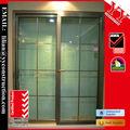 marco de aluminio de la ventana corredera y puerta con el estándar australiano