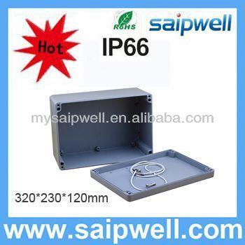 high quality IP65 extrusion enclosure (aluminum box serirs)