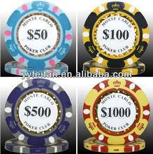 crown custom plastic poker chips