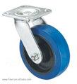 الثقيلة الأزرق قطب blacket furnitrial b مطاط عجلة دوارة