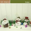 Pulgadas 4.5 santa muñeco de nieve y el adorno del árbol de navidad decoración 2014 dropshipping