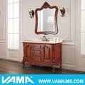 Vama estilo europeu andar de luxo- montado em madeira espelho do armário