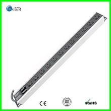 China PDU with current and voltage double display screen