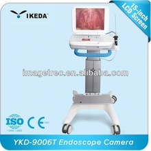 electronic image storage,double LCD screen,LED light source,HD portable endoscope cameras examination system