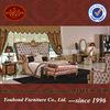 0061 Luxury Italian luxury antique solid rosewood bedroom furniture