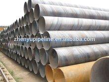 oil&gas spiral welded steel pipe API 5L