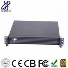 1U 19 inch 1 expansion slot mini itx router/firewall/log storage server case