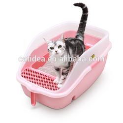 Luxury Cat Litter Box cat toliet with Free Scoop pet product