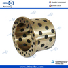 Flanged bronze bushing graphite filled bronze bushing Guide Components