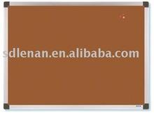 Natural cork pin board to attach notice