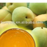 Yellow peach puree
