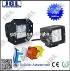 Offroad 12v led work light,cree 20w cub flush mount led work lamp