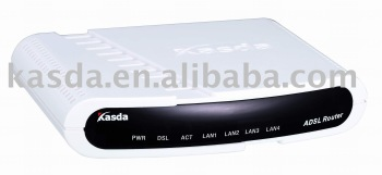Broadcom based ADSL Router Modem ADSL2+ with Four Ports