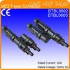 IP65 Waterproof MC4 T-Type Compatible Solar Connectors (male+female)