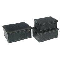 New design PU leather storage box