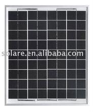 12V mono solar panel 10W for 12V battery