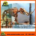 centro comercial de la exposición animales esqueleto réplica juguetes de arte