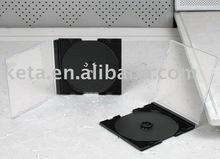 5.2mm Single With Black Tray Slim Jewel CD Case