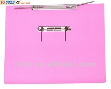 Newest style Spring File with Transfer Mechanism (pink)