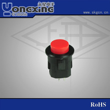 waterproof on off push button switch