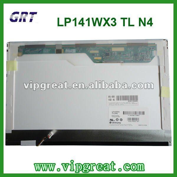 """14.1の"""" LP141WX3 (TL) (N4)ラップトップのlcdパネル"""
