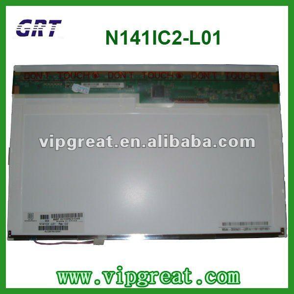 "14.1""1440*900 N141C2-L01 laptop lcd panel"