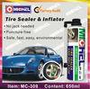 Tire Sealant & Inflator, Emergency Repair Spray