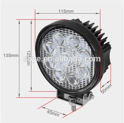 27W LED Work Light, Off road, ATV, SUV, 4x4 work lamps