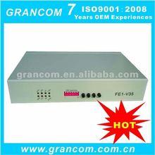 E1 to V35 Protocol Converter with Adjustable Rate V.35 Port
