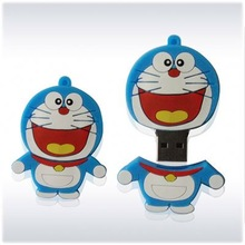 Free sample low price wholesale cute cartoon usb design flash memory drive