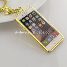 Cute mobile phone key chain