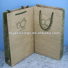 infant clothes shopping paper bag
