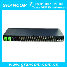 Ethernet over 16 E1 Aggregation Gateway for Base Station Monitoring System