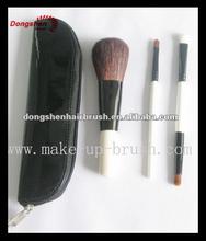 Convenient makeup travel brush sets,makeup brushes free samples,make up brush