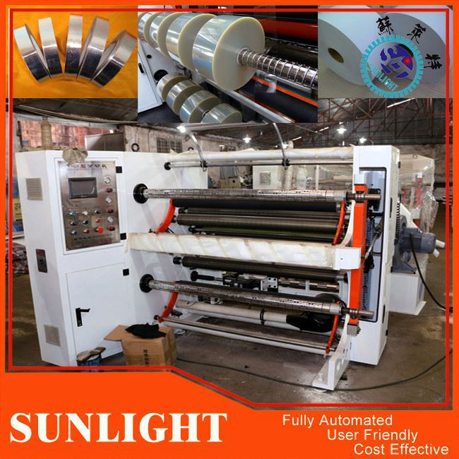 Plastic Film Separate Slitting Machine