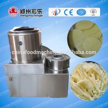 potato washing peeling cutting machine/carrot processing machine