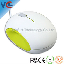 2012 fashionable wired optical mini mouse Colourful exclusive design comfortable use