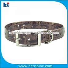 waterproof camo dog collar high quality dog collar