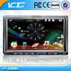 "ViewTech 7"" double din car dvd player with gps"