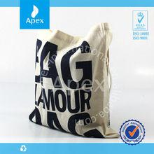 Wholesale cotton reusable shopping bag