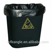 biodegradable flat bottom packaging plastic garbage bag manufacturer