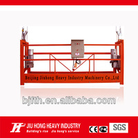 China Manufacturer ZLP Construction/Wall/Window Cleaning Suspended Platform/ Cradle/ Gondola/ / Sky Climber/ Scaffold for sale