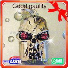 Hot sale Ghost usb flash disk,Amusing CrossBones usb stick