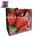 erdbeere design wiederverwendbare einkaufstasche